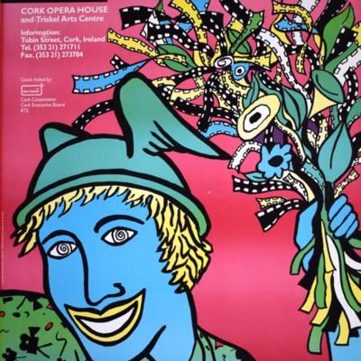 Cork International Film Festival poster from 1989