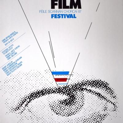 Cork International Film Festival poster from 1987