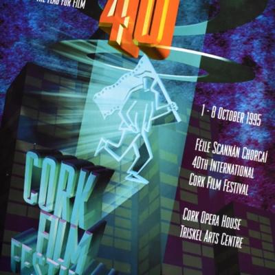 Cork International Film Festival poster from 1995