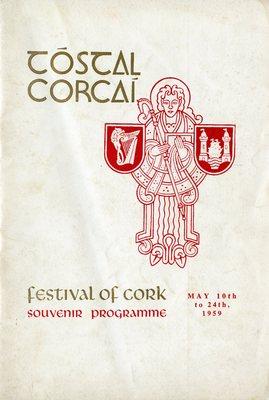 Tóstal Festival of Cork souvenir programme cover from 1959