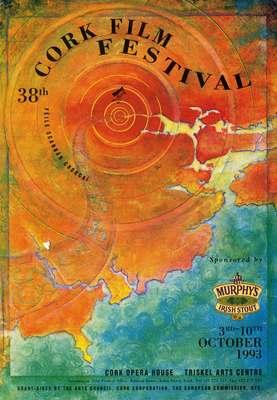 Cork International Film Festival programme cover from 1993