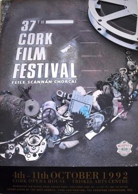 Cork International Film Festival poster from 1992