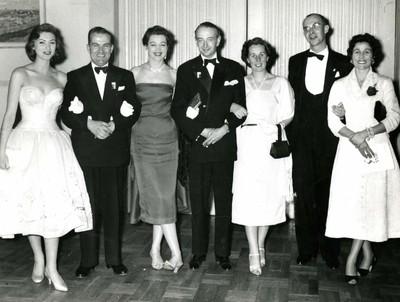 Group photo with Sylva Koscina