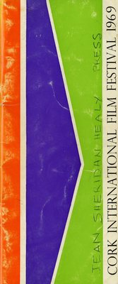 Cork International Film Festival programme cover from 1969