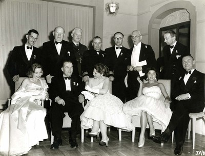Group photo from 1956 Cork Film Festival