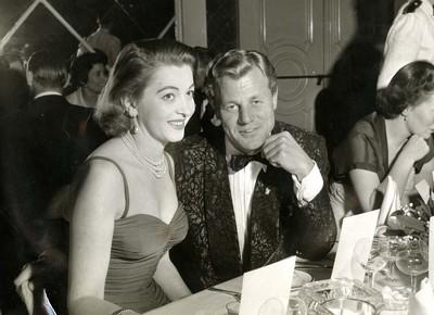 Luisa Della Noce and Tony Wright